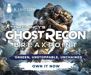Kinguin Tom Clancy's Ghost Recon Breakpoint 300x250