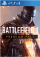 Battlefield 1 Premium Pass PS4 Cd Key