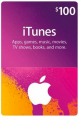 iTunes Gift Card – $100 USD